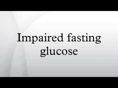 Diagnosis Prognosis And Treatment Of Impaired Glucose Tolerance And Impaired Fasting Glucose