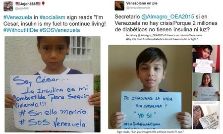 Venezuela without insulin