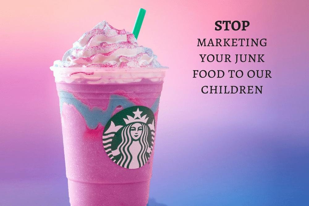 Starbucks Is Marketing To Children - Why I Hate The Unicorn Frappuccino