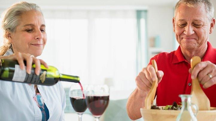 A Glass Of Wine May Have Health Perks For People With Type 2 Diabetes