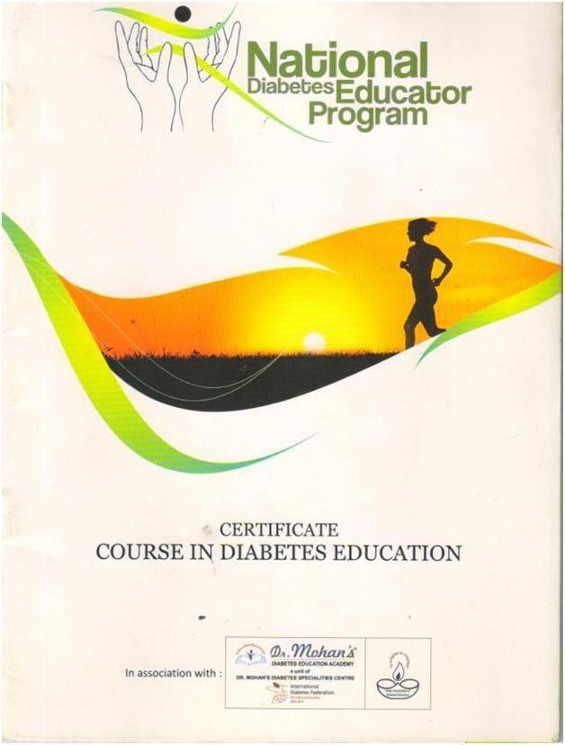 Diabetes Educator Course In India