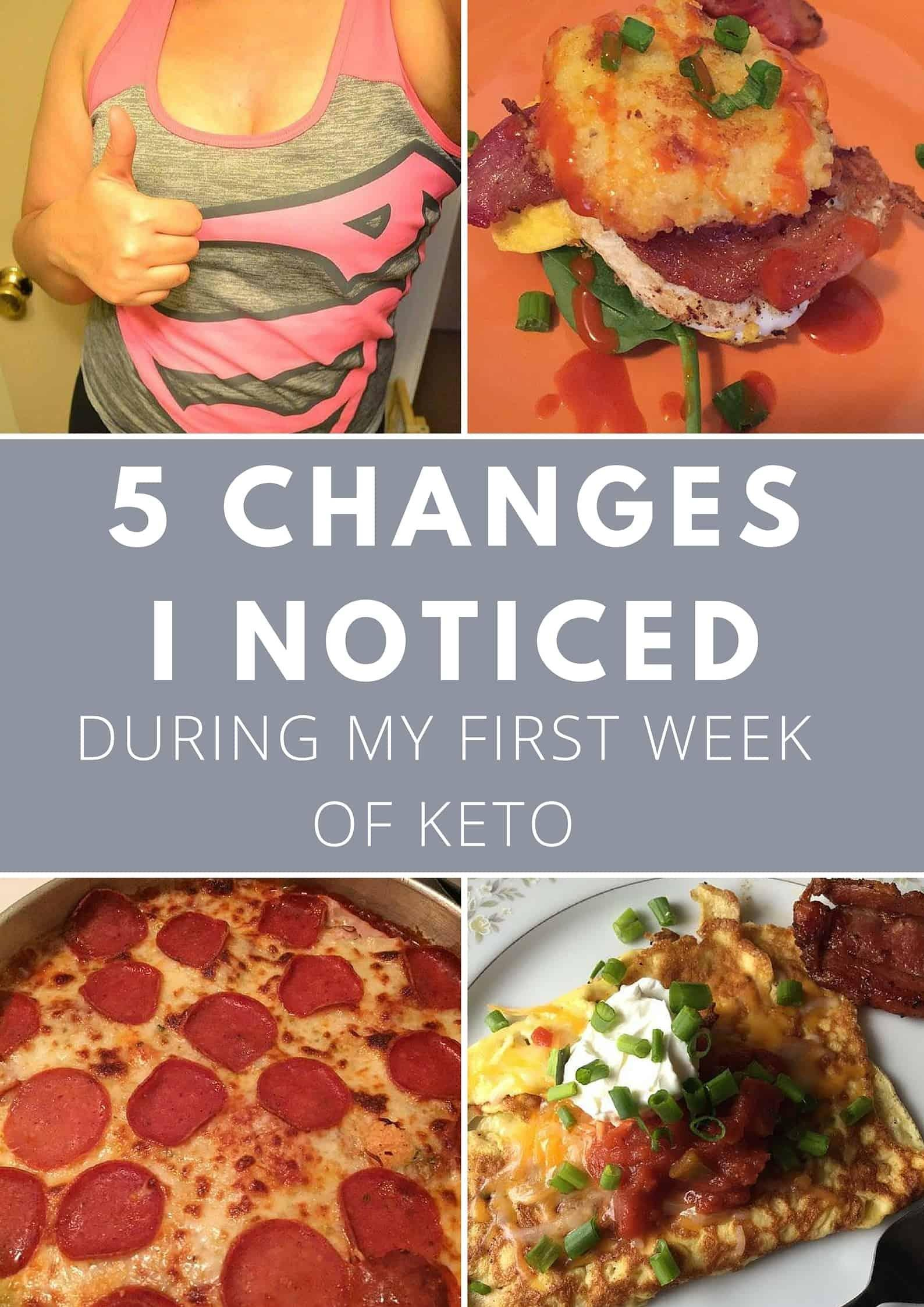 5 Changes During My First Week Of Keto