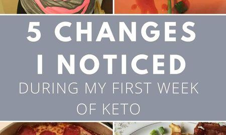 Ketosis First Week
