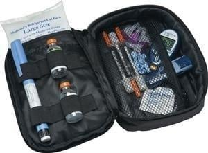 Diabetic Travel Organizer Plus 5
