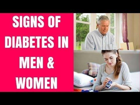 Signs, Symptoms And Diagnosis Of Diabetes