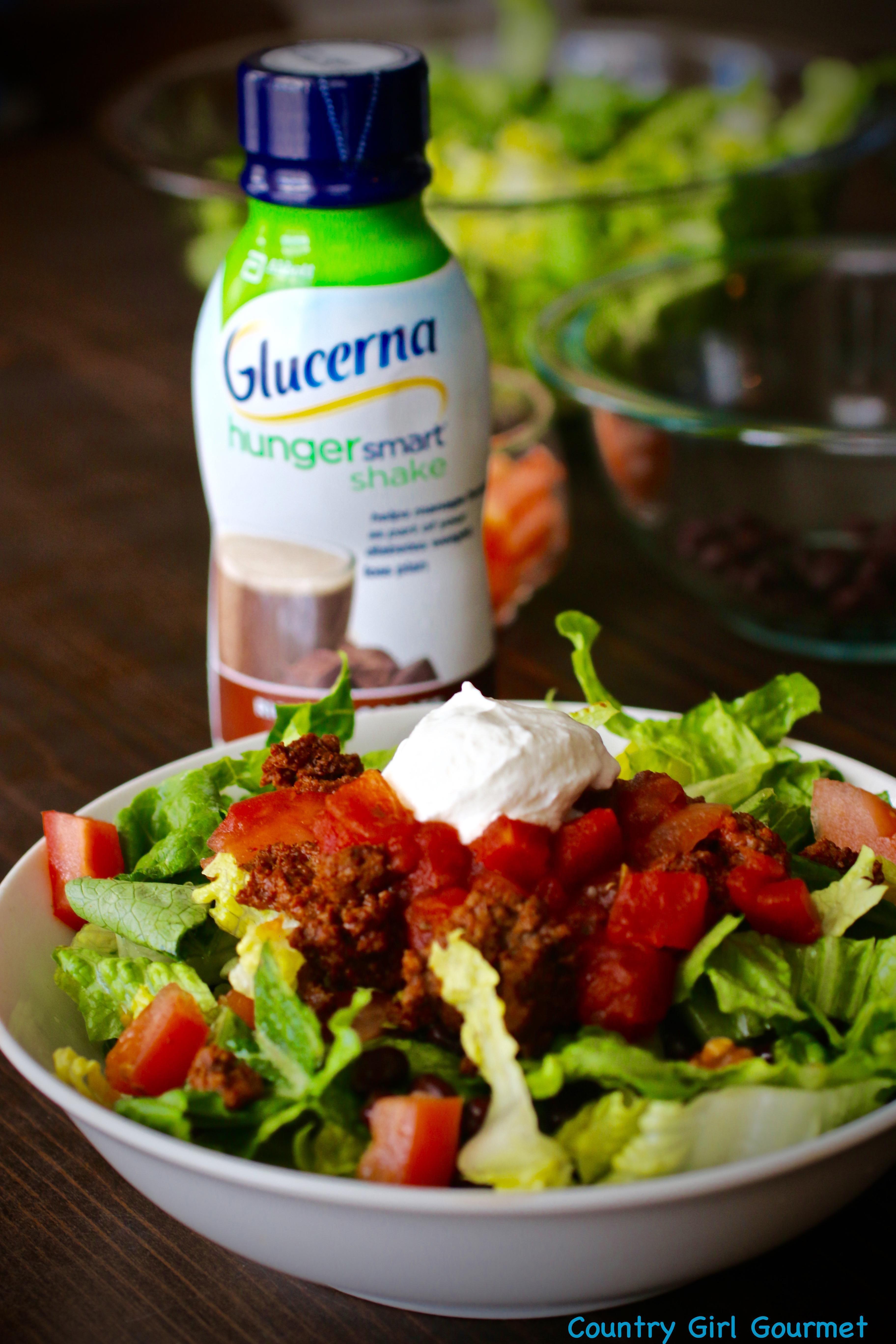 Diabetes, Taco Salad, And Glucerna