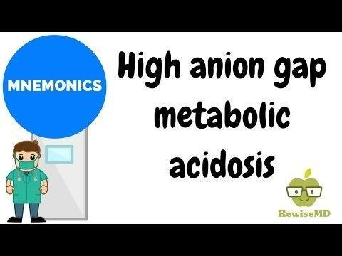 High Anion Gap Metabolic Acidosis