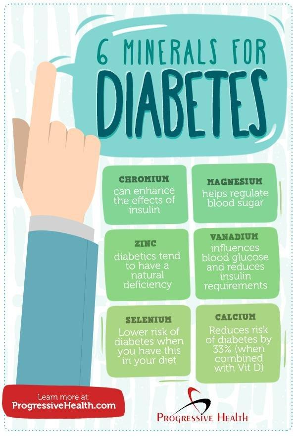 6 Essential Minerals For Diabetics