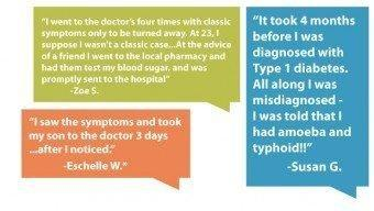 Type 1 Diabetes Before Diagnosis