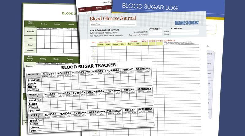 Printable Diabetes Log Book