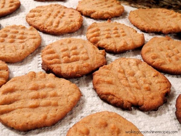 No Sugar And No Flour Peanut Butter Cookies