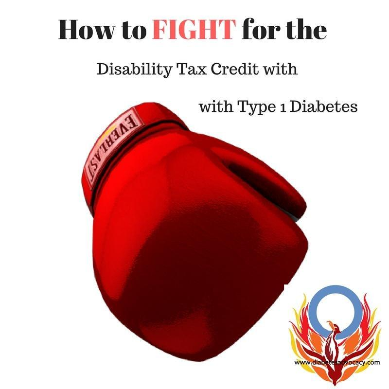 Diabetes Advocacy Disability Tax Credit