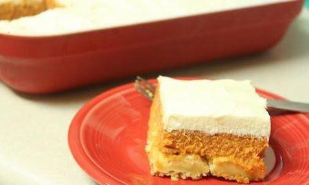 Low Carb Pumpkin Bars With Cream Cheese Frosting