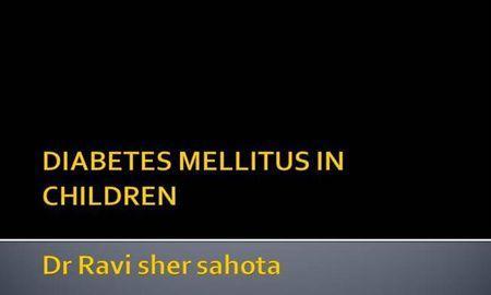 Diabetes Mellitus In Pediatrics Ppt