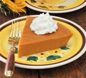No Pie Pumpkin Pie