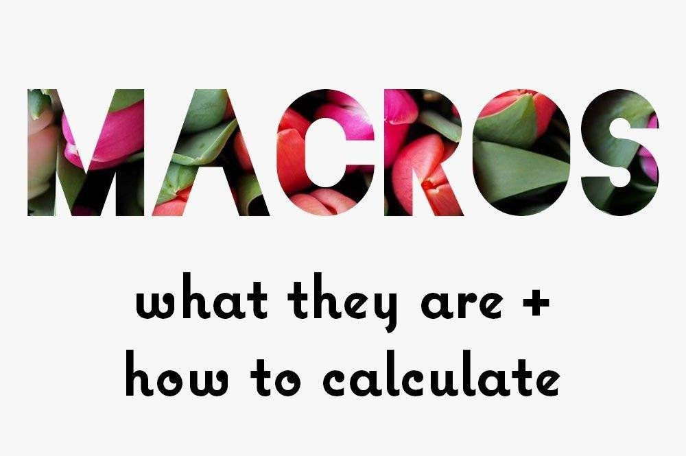 What Are Macros? What They Are & How To Calculate