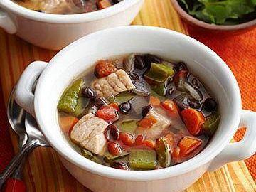 Diabetic Black Bean Soup