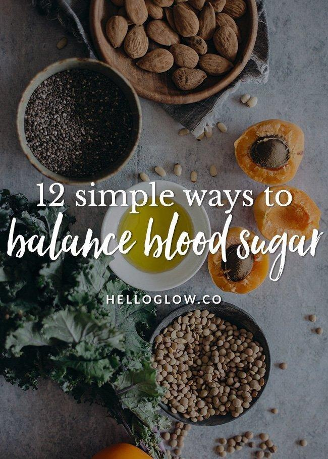What Can I Eat To Stabilize My Blood Sugar?