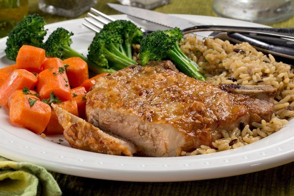 Diabetic Pork Chop Casserole