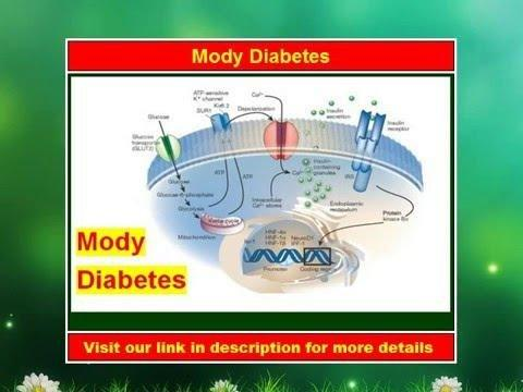 What Is A Mody Diabetes?