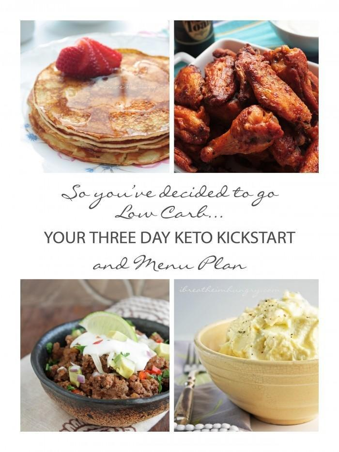 Your 3 Day Keto Kickstart And Menu Plan