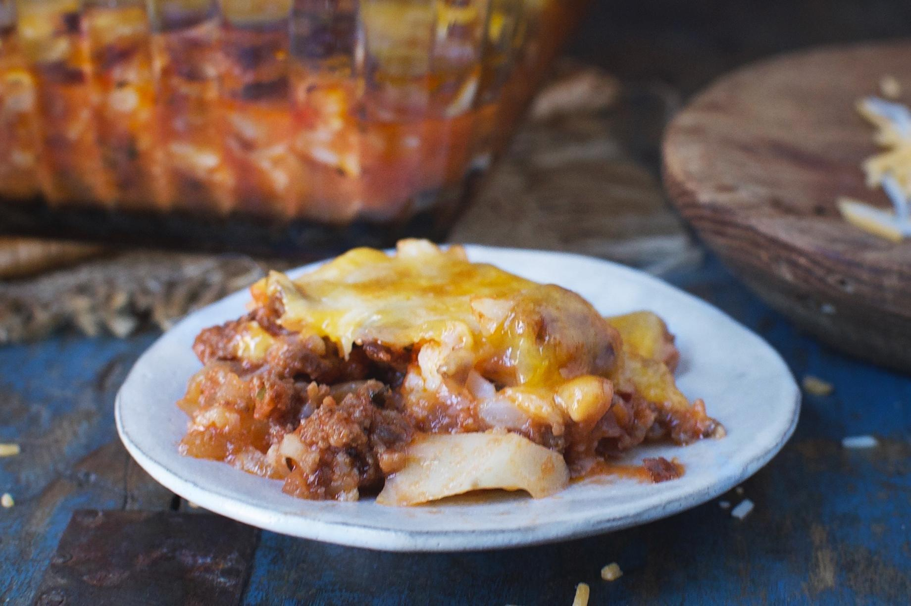 Diabetic Casserole With Ground Beef