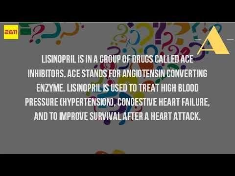 Is Lisinopril Used To Treat Diabetes?