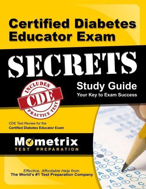 Certified Diabetes Educator Exam Secrets Study Guide