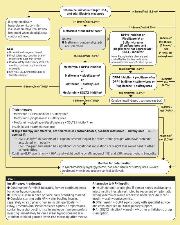 Management Of Type 2 Diabetes (nice Guideline)