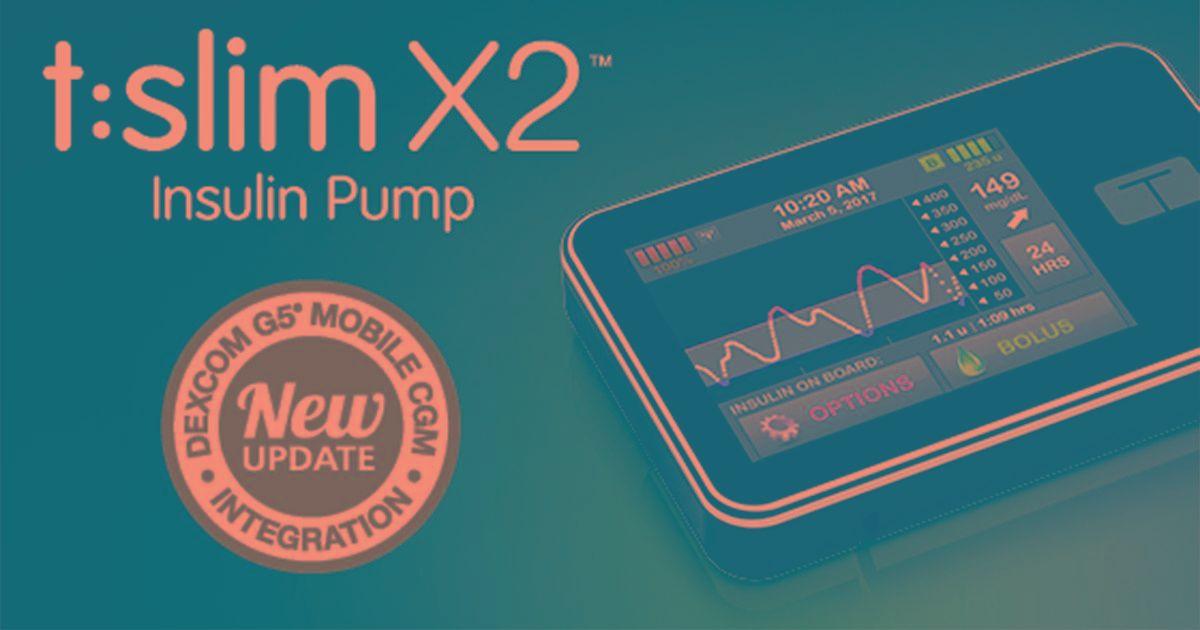 T:slim X2 Insulin Pump