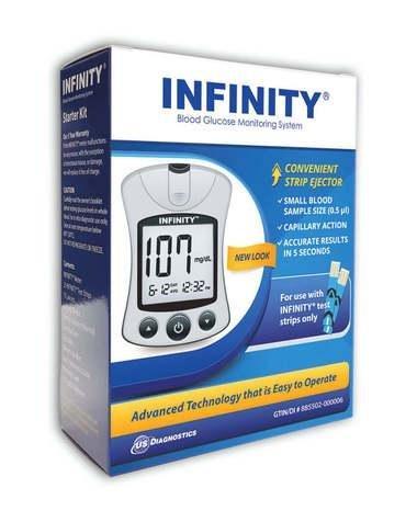 Infinity Blood Glucose Meter