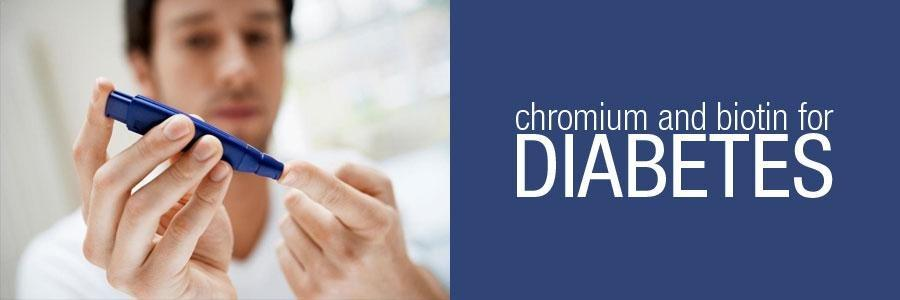 Diabetes Alert: Biotin and Chromium Help Control Glucose Levels