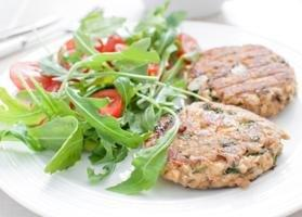 Diabetic Friendly Salmon Cakes