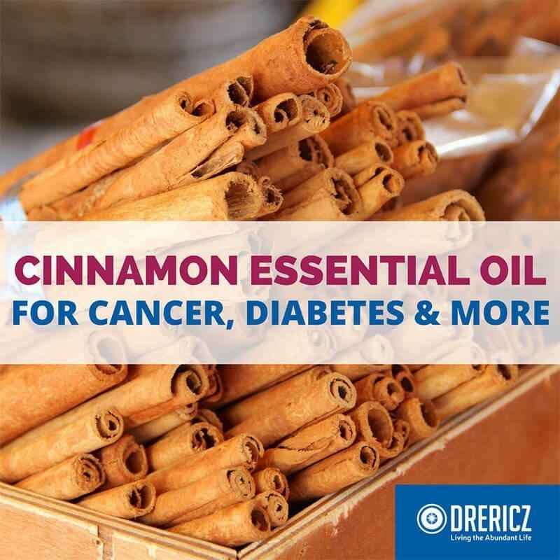 Cinnamon Essential Oil for Cancer, Diabetes and More!