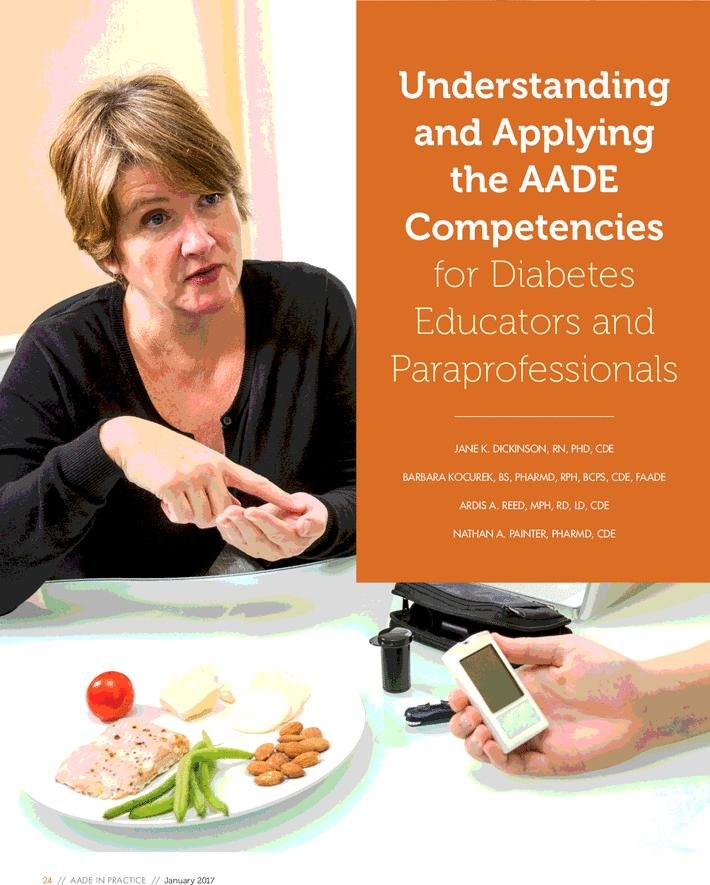 Understanding And Applying The Aade Competencies For Diabetes Educators And Paraprofessionals