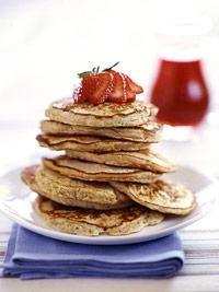 Diabetic Oatmeal Pancakes Recipe