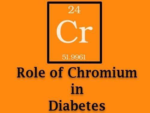Diabetes Biotin Chromium Dosage