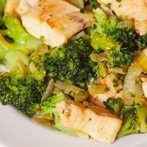 One-skillet Chicken And Broccoli