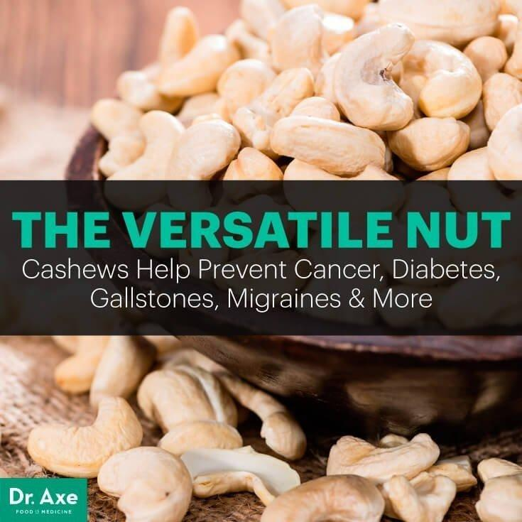 Cashews Nutrition: Helps Prevent Cancer, Diabetes & More