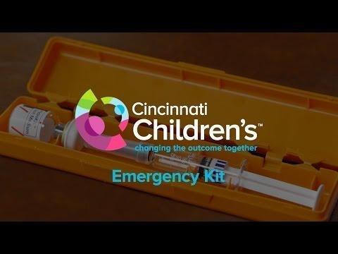 Children With Diabetes - Diabetes Emergency Kit