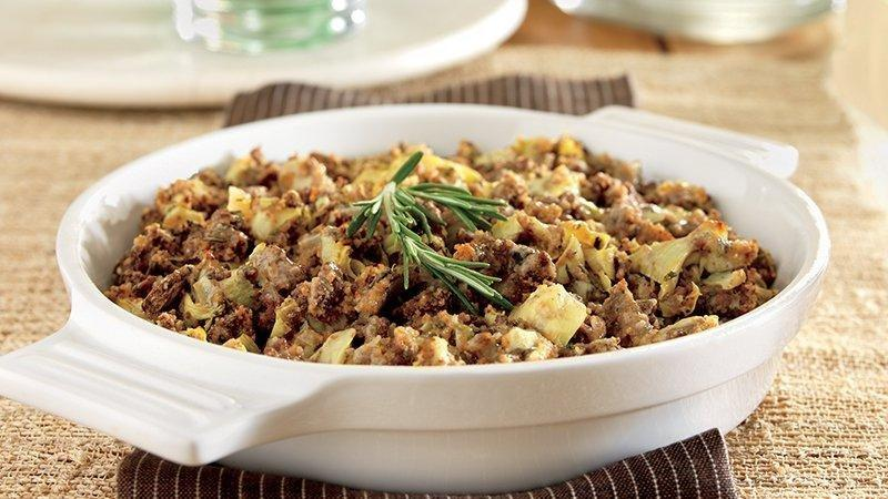 Diabetic Beef And Artichoke Casserole Recipe
