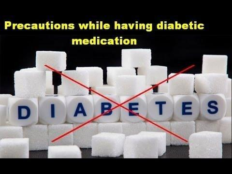 Not Taking Diabetes Medication