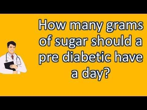 How Many Grams Of Sugar Should A Person With Type 2 Diabetes Have