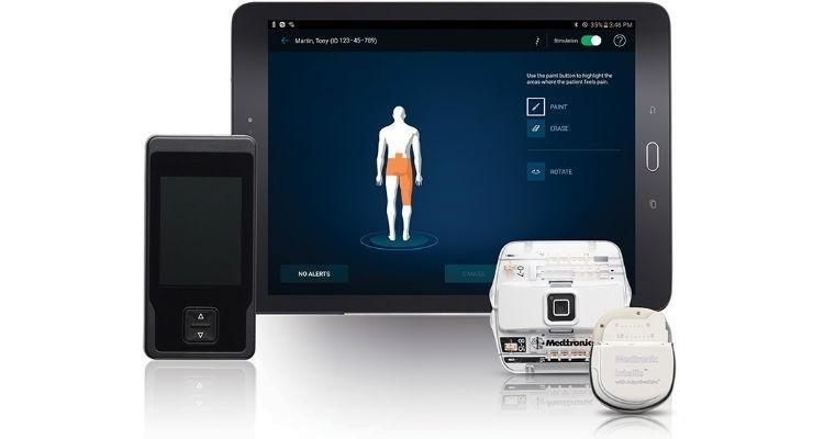 Medtronic's Intellis Implantable Spinal Cord Stimulator Granted Ce Mark