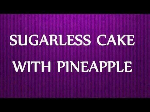 Diabetic Angel Food Cake With Pineapple