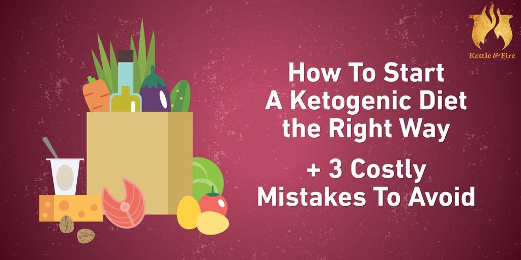 How To Start A Ketogenic Diet The Right Way + 3 Costly Mistakes To Avoid