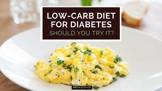 Low-carb Diet For Diabetes: Should You Try It?