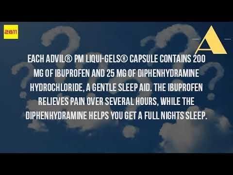Advil Pm And Diabetes