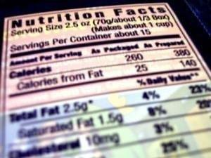 Reading Nutrition Labels: What's Important if You Have Diabetes