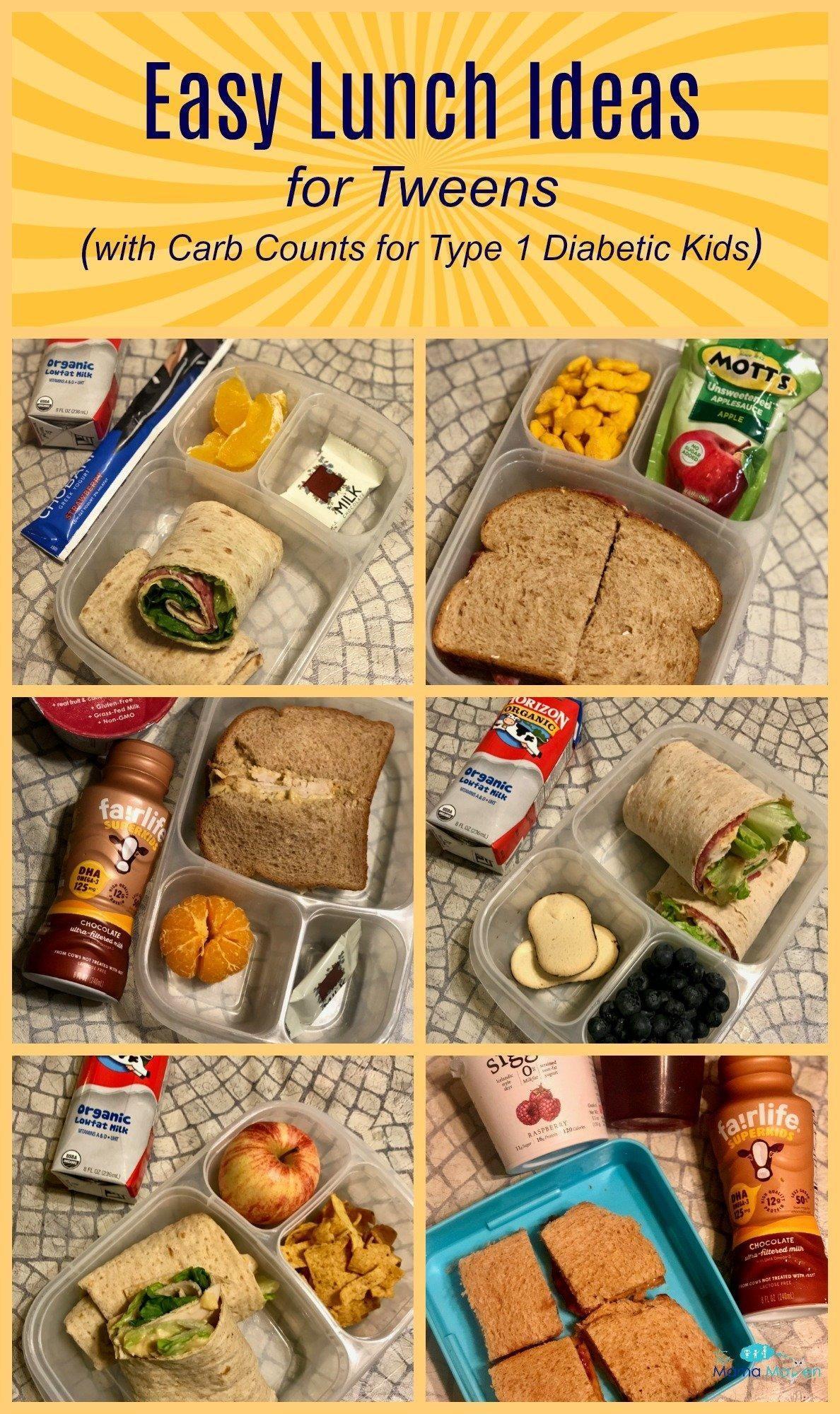 Diabetic Lunch Ideas Type 1